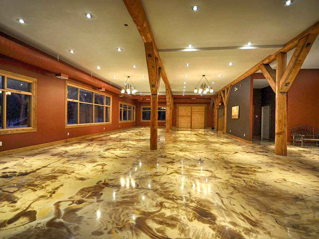 reflector drizzle floor